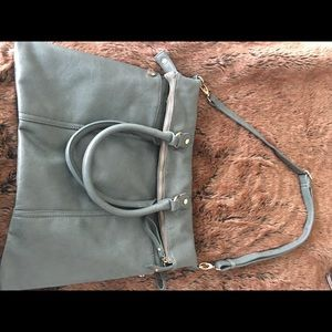 Handbags - Sage Green leather bag